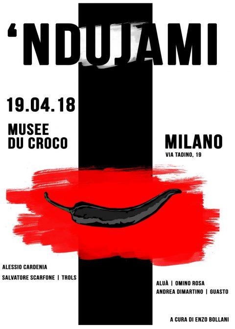 NDUJAMI – Le radici dell'Italia al Musée du Croco