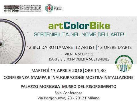 Mostra ArtColorBike – Palazzo Moriggia