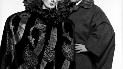 Karl Lagerfeld e Anna Piaggi: musa ispiratrice, amica di sempre.